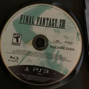 PS3 - Final fantasy 13
